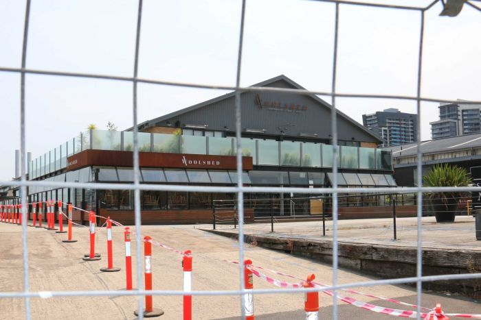 Docklands' Central Pier closed indefinitely over safety concerns as businesses plan to sue